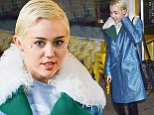 Miley Cyrus spotted wearing gemstones on her faces as leaving The Butcher's Daughter restaurant in New York City on March 6, 2015.\n\nPictured: Miley Cyrus\nRef: SPL969007  060315  \nPicture by: Felipe Ramales / Splash News\n\nSplash News and Pictures\nLos Angeles: 310-821-2666\nNew York: 212-619-2666\nLondon: 870-934-2666\nphotodesk@splashnews.com\n