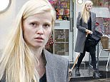 EXCLUSIVE PICTURES !!!!!THESE IMAGES CAN NOT BE PUBLISHED ONLINE/WEBSITES!!!!! ******MINIMUM USAGE FEE  250 PER IMAGE******** This is the most Recent Picture of Lara Stone since the announcement of her spilt to British TV Star and Comedian David Walliams. Lara was pictured leaving a shop in Primrose Hill whilst walking the couples beloved dog Bert for a walk  !!!!!!THESE IMAGES CAN NOT BE PUBLISHED ONLINE/WEBSITES!!!!!!! ******MINIMUM USAGE FEE  250 PER IMAGE********