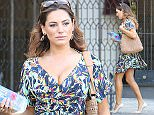 Pictured: Kelly Brook\nMandatory Credit © DRILA/Broadimage\n***EXCLSUIVE***\nKelly Brook displays an amazing figure in a blue dress as she leaves home in West Hollywood\n\n3/14/15, West Hollywood, California, United States of America\n\nBroadimage Newswire\nLos Angeles 1+  (310) 301-1027\nNew York      1+  (646) 827-9134\nsales@broadimage.com\nhttp://www.broadimage.com\n