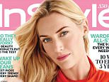 Inside the April InStyle, on newsstands March 20, writer Chloe Fox describes how Kate Winslet is a study in contradictions. Maybe so, but in the photographs taken by Giampaolo Sgura, one thing is clear: the 39-year-old actress is stunning.\n\nWhile the Oscar winner appears on our cover in a bright orange top by Ralph Lauren Collection, jade earrings by Ippolita, and gold Elsa Peretti for Tiffany & Co. bracelets (as well as a few bangles of her own), inside the magazine she wears easy pieces by Bottega Veneta, La Perla, and more, all perfect for the shoot¿s seaside setting.\n\nRELATED: See Kate Winslet¿s 6 Beauty Must-Haves\n\nHaving driven herself to the photo call¿s location near her home in West Sussex, Winslet arrived with a bare face, wearing a black Alexander Wang long-sleeve T-shirt, black Rag & Bone jeans, and Isabel Marant boots. On set, she was drawn to vibrant single- and double-finger rings by Delfina Delettrez, as well as a lilac-print Michael Kors frock from his spring co