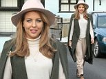 Picture Shows: Lydia Bright  March 14, 2015\n \n Lydia Bright spotted at her shop in Loughton, England. Lydia looked stylish in an all-beige outfit with a matching hat and cape sleeve coat.\n \n Non Exclusive\n WORLDWIDE RIGHTS\n \n Pictures by : FameFlynet UK © 2015\n Tel : +44 (0)20 3551 5049\n Email : info@fameflynet.uk.com