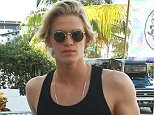 Picture Shows: Cody Simpson  March 14, 2015    Models Gigi Hadid and Rachel Hilbert, and Gigi's boyfriend Cody Simpson, seen at the Victoria's Secret PINK Nation Ultimate Spring Break Bash at Surfcomber Hotel in Miami, Florida.    Non Exclusive  UK RIGHTS ONLY    Pictures by : FameFlynet UK © 2015  Tel : +44 (0)20 3551 5049  Email : info@fameflynet.uk.com