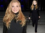 LONDON, ENGLAND - MARCH 14:  Natalie Dormer attends the Alexander McQueen: Savage Beauty VIP private view at the Victoria and Albert Museum on March 14, 2015 in London, England.  (Photo by David M. Benett/Getty Images for Victoria and Albert Museum)