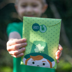 """St Patrick's Day Crafts – """"Lucky You"""" Treat Bags"""
