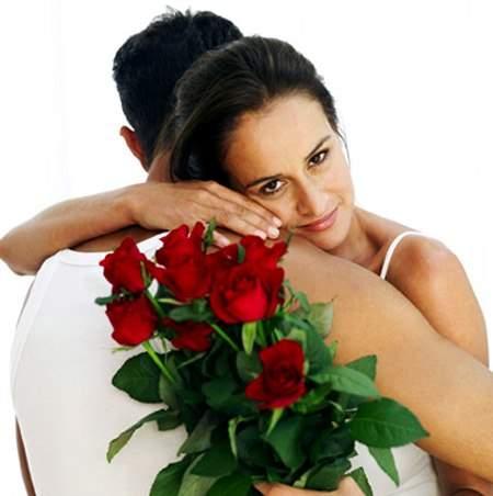 доставка романтических цветов