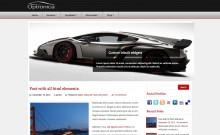 free wordpress theme: Optronica