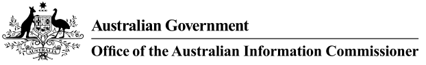 Australian Government - Office of the Australian Information Commissioner