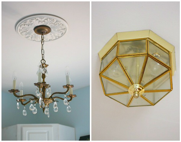 Crystal Chandelier in the DIY Laundry Room - Balancing Beauty and ...