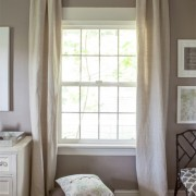 Easy to Make Back Tab Curtains