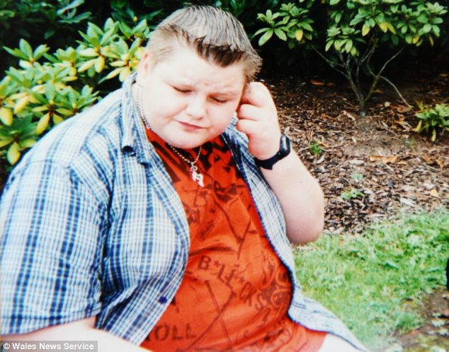 Nathan Hewitt, 23, weighed 23st by the time he was 15 as he binged on junk food and didn't exercise
