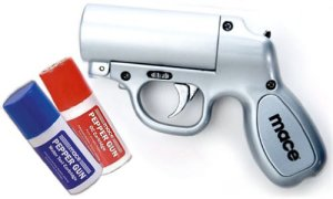mace Pepper Spray gun image of Mace pepper silver spray review 2014