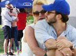 Britney Spears gets close to her boyfriend as she takes her kids to a soccer game in Los Angeles, CA\n\nPictured: Britney Spears\nRef: SPL976360  150315  \nPicture by: iPix211/London Entertainment\n\nSplash News and Pictures\nLos Angeles: 310-821-2666\nNew York: 212-619-2666\nLondon: 870-934-2666\nphotodesk@splashnews.com\n