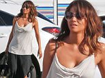 Picture Shows: Halle Berry  March 13, 2015\n \n  Actress Halle Berry is spotted on the set of her TV series 'Extant' filming in Los Angeles, California. On the show Berry plays an astronaut who mysteriously became pregnant while in outer space.\n \n Non Exclusive\n UK RIGHTS ONLY\n \n Pictures by : FameFlynet UK © 2015\n Tel : +44 (0)20 3551 5049\n Email : info@fameflynet.uk.com