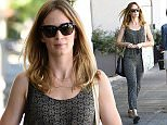 13 Mar 2015 - WEST HOLLYWOOD - USA  EMILY BLUNT LEAVING THE SALON   BYLINE MUST READ : XPOSUREPHOTOS.COM  ***UK CLIENTS - PICTURES CONTAINING CHILDREN PLEASE PIXELATE FACE PRIOR TO PUBLICATION ***  **UK CLIENTS MUST CALL PRIOR TO TV OR ONLINE USAGE PLEASE TELEPHONE  44 208 344 2007 ***