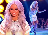****Ruckas Videograbs****  (01322) 861777\n*IMPORTANT* Please credit BBCfor this picture.\n14/03/15\nThe Voice\nGrabs from the show tonight\nOffice  (UK)  : 01322 861777\nMobile (UK)  : 07742 164 106\n**IMPORTANT - PLEASE READ** The video grabs supplied by Ruckas Pictures always remain the copyright of the programme makers, we provide a service to purely capture and supply the images to the client, securing the copyright of the images will always remain the responsibility of the publisher at all times.\nStandard terms, conditions & minimum fees apply to our videograbs unless varied by agreement prior to publication.