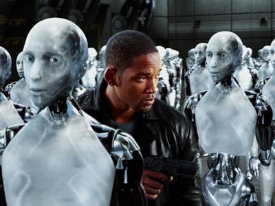 Кадр из фильма с Уиллом Смитом — «Я, робот»