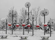 安徽湖北等地雨雪闹元宵 北方气温回升