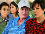 Calabasas CA: Sunday, March 15, 2015 - On the Season 10 premiere titled ¿The New Normal¿ the Kardashian clan struggle to adapt to life after Bruce and Kris's divorce, which is made even more difficult by the rumor that Bruce is on the rebound with one of Kris's best friends. Meanwhile, Kim is determined to get pregnant and give North West a sibling\n