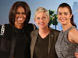 """On Meeting The First Lady& Ellen: So you?re the famous First Lady on Television. And then you just took a selfie with the real First Lady. How cool was that? Bellamy: Surreal. How crazy is this show? How great is this show today. Thank you for that. Ellen: I know. Bellamy: We?ve only we met one other time I met her last year around this time at White House Correspondents dinner. Tony Goldwyn who plays my husband on the TV. We got to sort of go through a line and meet them together and the first thing she said to me was as we were walking onto the dance she says why did you kill your son? And I was like, and I got really nervous and I was like oh, ee and I couldn?t really get any words out. So I was glad I got to speak today. And our sweet President said to Tony, Mr. president? Mr. President. Like that?s how. And then the moment was over. Ellen: That?s very cool. Isn?t that amazing that """"Scandal"""" is so popular that actually the president is watching the show. Bellamy: It?s so surreal."""