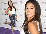 Celebrities attend The Paley Center For Media's 32nd Annual PALEYFEST LA - 'Jane The Virgin' Arrivals at The Dolby Theatre.\nFeaturing: Gina Rodriguez\nWhere: Los Angeles, California, United States\nWhen: 15 Mar 2015\nCredit: Brian To/WENN.com