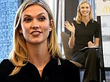 """AUSTIN, TX - MARCH 14:  Model Karlie Kloss speaks at the panel for SXSWStyle """"How Technology Colonized Fashion Week during the 2015 SXSW Music, Film + Interactive Festival at the JW Marriott on March 14, 2015 in Austin, Texas.  (Photo by Michael Buckner/Getty Images for SXSW)"""