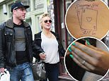 """12.MARCH.2015  - LONDON  - UK\n*** EXCLUSIVE PICTURES ***\nRUMOURED COUPLE SHERIDAN SMITH AND GREG WOOD HERE PROVING THAT THEY ARE ROMANTICALY INVOLVED, CONFIRMING THE FACT THAT THEY ARE TOGETHER BY GETTING TATTOOS OF EACH OTHER'S NAMES WITH A PAIR OF ACES IN A TATTOO SHOP IN NOTTING HILL. THEY SEEMED VERY MUCH IN LOVE AND ADDED """"ALL IN"""" TO THERE TATTOOS TO SHOW THEIR COMMITMENT TO EACH OTHER.\nBYLINE MUST READ : XPOSUREPHOTOS.COM\n***UK CLIENTS - PICTURES CONTAINING CHILDREN PLEASE PIXELATE FACE PRIOR TO PUBLICATION ***\n**UK CLIENTS MUST CALL PRIOR TO TV OR ONLINE USAGE PLEASE TELEPHONE  442083442007"""