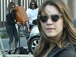 Picture Shows: Katharine McPhee  March 15, 2015    'Scorpion' actress Katharine McPhee spotted out with a mystery man in Los Angles, California.     The pair were having trouble putting Katharine's luggage into his Mini Cooper and had to put it in the back seat.     Exclusive - All Round  UK RIGHTS ONLY    Pictures by : FameFlynet UK    2015  Tel : +44 (0)20 3551 5049  Email : info@fameflynet.uk.com