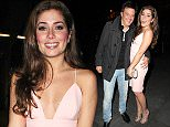 Hollyoaks actress Nikki Sanderson leaves Australasia Restaurant in Manchester city centre with her boyfriend on Saturday night and head to LIV Nightclub for a late drink..... 14.3.15......Nikki bumped into an old friend Joel Ross from Heart FM Radio Station.