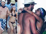 Caption: Patrick Schwarznegger parties in Mexico without Miley&..   Patrick is seen enjoying the company of a young brunette.