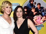 """AUSTIN, TX - MARCH 16:  Actress Molly Ringwald (L) and actress Ally Sheedy attend """"The Breakfast Club"""" 30th Anniversary Restoration world premiere during the 2015 SXSW Music, Film + Interactive Festival at the Paramount Theatre on March 16, 2015 in Austin, Texas.  (Photo by Michael Buckner/Getty Images for SXSW)"""