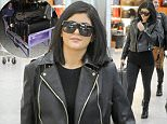 Picture Shows: Kylie Jenner  March 15, 2015\n \n Reality television star Kylie Jenner is seen arriving at Heathrow Airport in London, England.\n \n The 'Keeping Up With The Kardashians' star was dressed in an all-black ensemble that included dark sunglasses, a black leather jacket worn over a black shirt, black leggings and boots as she made her way into the terminal.\n \n Non Exclusive\n WORLDWIDE RIGHTS\n \n Pictures by : FameFlynet UK © 2015\n Tel : +44 (0)20 3551 5049\n Email : info@fameflynet.uk.com