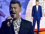 LONDON, ENGLAND - FEBRUARY 25:  Sam Smith performs on stage at the BRIT Awards 2015 at The O2 Arena on February 25, 2015 in London, England.  (Photo by Dave J Hogan/Getty Images)