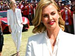 MELBOURNE, AUSTRALIA - MARCH 15:  Actress Charlize Theron attends the Australian Formula One Grand Prix at Albert Park on March 15, 2015 in Melbourne, Australia.  (Photo by Robert Cianflone/Getty Images)