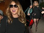 Mariah Carey Has Dinner at Dan Tanas in West Hollywood  Pictured: Mariah Carey Ref: SPL976816  160315   Picture by: Photographer Group / Splash News  Splash News and Pictures Los Angeles: 310-821-2666 New York: 212-619-2666 London: 870-934-2666 photodesk@splashnews.com
