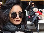 Picture Shows: Vanessa Hudgens  March 15, 2015    Actress Vanessa Hudgens and her sister Stella are spotted out with her dog in New York City, New York. Vanessa is in New York to star in the Broadway show 'Gigi'.     Exclusive - All Round  UK RIGHTS ONLY    Pictures by : FameFlynet UK    2015  Tel : +44 (0)20 3551 5049  Email : info@fameflynet.uk.com