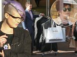 134161, EXCLUSIVE: Kelly Osbourne takes a huge rack of clothes after shopping with mother Sharon Osbourne at Neiman Marcus in LA. Los Angeles, California - Saturday March 14, 2015. Photograph: Sam Sharma / JS, © PacificCoastNews. Los Angeles Office: +1 310.822.0419 sales@pacificcoastnews.com FEE MUST BE AGREED PRIOR TO USAGE