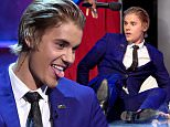 LOS ANGELES, CA - MARCH 14:  Honoree Justin Bieber onstage at The Comedy Central Roast of Justin Bieber at Sony Pictures Studios on March 14, 2015 in Los Angeles, California. The Comedy Central Roast of Justin Bieber will air on March 30, 2015 at 10:00 p.m. ET/PT.  (Photo by Kevin Winter/Getty Images)