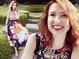 Any posts online must link back to: http://www.redbookmag.com/fashion/trends/a20816/ellie-kempers-secrets-for-dressing-happier/\n\nFashion Credits:\nIMAGE 1\nDress: Talbots\nBracelets: Lydell NYC, Gorjana, and Earthy Chic Boutique\nHeels: Lulu¿s\n\nIMAGE 2\nTop: 1. State\nNecklace: Bauble Bar\nJeans: Levi¿s\n\nIMAGE 3\nTop: Koral\nSkirt: H&M\nNecklace: Stella & Dot\nHeels: Kristin Cavallari by Chinese Laundry\n\n\nQuotes:\nEllie Kemper¿s enthusiasm and innocence is not an act ¿ when the Missouri transplant arrived in NYC after college, she was promptly duped:\n¿I went out to grocery-shop, and this lady stopped me on the street and offered me a beauty parlor special, ¿I can give you two makeovers for the price of one; all I need is your credit card,¿¿ says Ellie with a laugh. ¿I literally whipped out my card and was like, ¿here it is!  Is this all you need?¿ and she copied it right there on Sixth Avenue.¿\n\nOn her personal style:\n¿I have found I¿m leaning toward more vibrant colors b