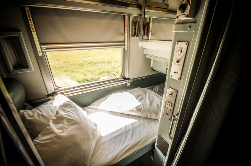 Cabin for One with VIA Rail