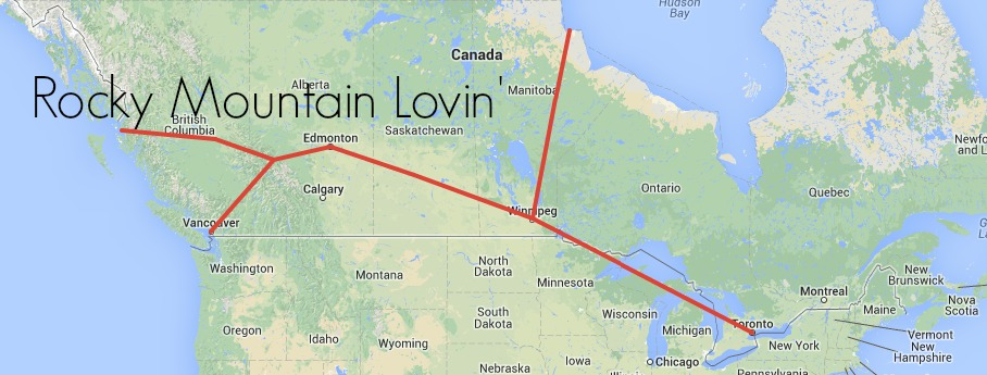 Rocky Mountain Lovin Route with VIA Rail