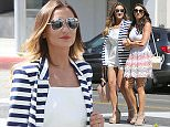 Sam Faiers and Luisa Zissman are spotted shopping in Beverly Hills, California. The duo are rumoured to be in Los Angeles to sign a contract with Protein World and were seen celebrating their deal with a shopping spree in the exclusive area. The girls were seen carrying bags from Jimmy Choo and Chanel as they strolled the sunny streets. Both looked summery in their outfits; Sam in a white playsuit and striped blazer and Luisa in a patterned skirt and white top. The two cruised LA in a white Bentley - typical of Luisa who is known for her love of fast, white cars.   Pictured: Sam Faiers, Luisa Zissman Ref: SPL976915  160315   Picture by: Splash News  Splash News and Pictures Los Angeles: 310-821-2666 New York: 212-619-2666 London: 870-934-2666 photodesk@splashnews.com
