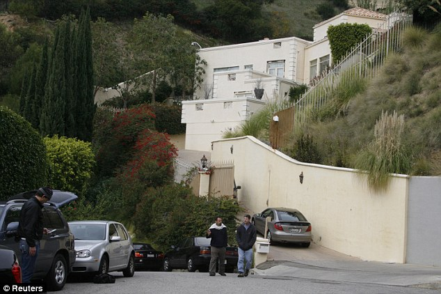Scene of the crime? Brittany Murphy died at her home in the Hollywood Hills on December 20, 2009. Her husband followed her in death five months later