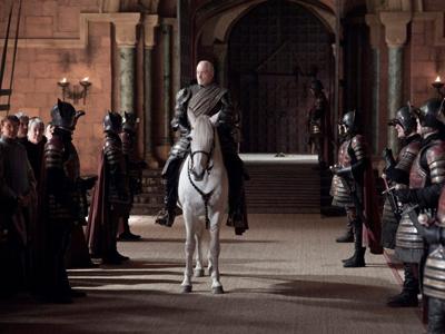 Кадр из сериала «Игра престолов», созданный по мотивам цикла романов Джорджа Мартина