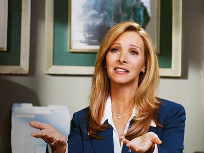 Лиза Кудроу в сериале канала Showtime - Интернет-терапия