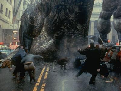 Кадр из фильма Годзилла 1998 года