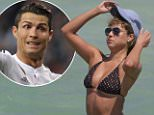 EXCLUSIVE: Mexican-German reporter Vanessa Huppenkothen seen in a polka dot bikini at the beach in Miami, Florida on March 17, 2015. Vanessa, daughter of former Schalke footballer Dieter Huppenkothen, has been rumored to be the new girlfriend of Real Madrid star Cristiano Ronaldo. She posted a picture on twitter about a book she was reading before taking a dip in the ocean to cool off from the Florida sun.  Pictured: Vanessa Huppenkothen Ref: SPL978692  170315   EXCLUSIVE Picture by: Pichichi  Splash News and Pictures Los Angeles: 310-821-2666 New York: 212-619-2666 London: 870-934-2666 photodesk@splashnews.com