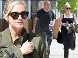 Picture Shows: Evan Ross, Ashlee Simpson  March 17, 2015\n \n Pregnant singer Ashlee Simpson is seen leaving the Tracy Anderson gym in Studio City, California with her husband Evan Ross after enjoying a workout. 30-year-old Ashlee covered her growing baby bump with a green jacket.\n \n Non Exclusive\n UK RIGHTS ONLY\n \n Pictures by : FameFlynet UK © 2015\n Tel : +44 (0)20 3551 5049\n Email : info@fameflynet.uk.com
