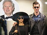 Mandatory Credit: Photo by Simon Runting/REX (4540577c)  Sacked NZ X Factor judges Natalia Kills and Willy Moon being escorted through Auckland Airport check in before fleeing the country to LA  Sacked X Factor judges Natalia Kills and Willy Moon leaving Auckland Airport, New Zealand - 17 Mar 2015