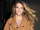 Mandatory Credit: Photo by Broadimage/REX (4204902a).. Blake Lively.. Blake Lively out and about, New York, America - 16 Oct 2014.. ..