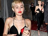 Miley Cyrus leaving The Laugh Factory in West Hollywood, CA.  Pictured: Miley Cyrus Ref: SPL976977  170315   Picture by: FJR / Splash News  Splash News and Pictures Los Angeles: 310-821-2666 New York: 212-619-2666 London: 870-934-2666 photodesk@splashnews.com